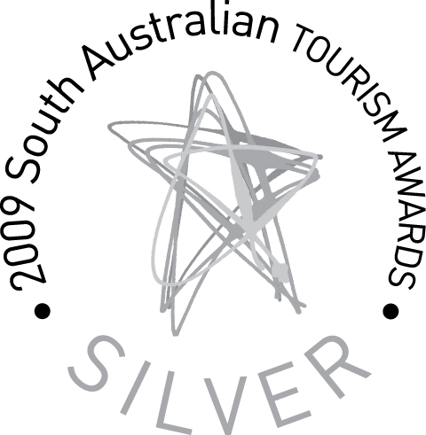 SA Tourism Awards Silver medal